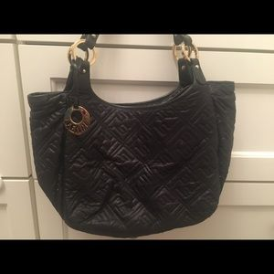Fendi Black fabric bag.
